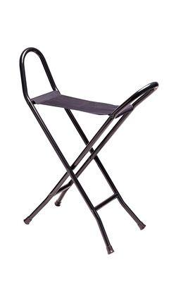 Black Canvas Seat Stick