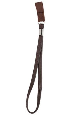 Brown Faux Leather Wrist Cord