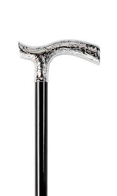 Decorative Chrome Crutch