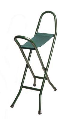 Green Canvas Seat Stick