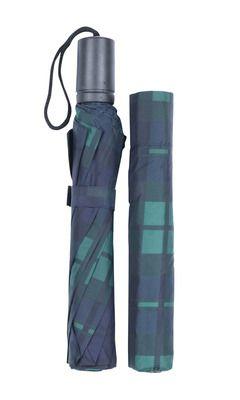 Black Watch Tartan Folding Umbrella