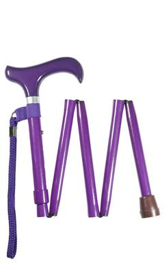 Metallic Purple Folding Stick