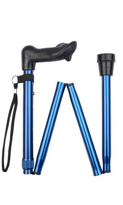 Blue Economy Anatomical Folding Stick (left-hand)