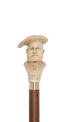 Henry VIII Moulded Top Stick