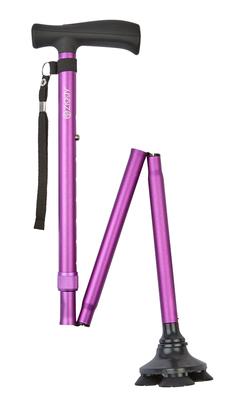 Ziggy Tribase Folding Stick - Purple
