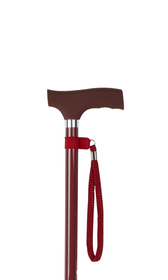 Burgundy Silicone Handle Adjustable Stick