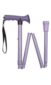 Gel Handle Folding Stick - Lilac