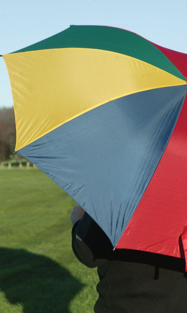 Multi Coloured Golf Umbrella Umbrellas